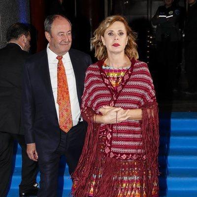 Ágatha Ruiz de la Prada y El Chatarrero en los Premios BMW de Pintura 2019