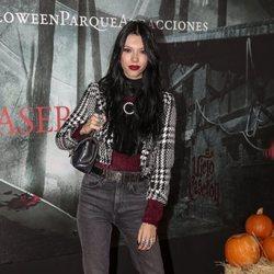 Alejandra Rubio en la presentación de la 'Halloween week 2019' del Parque de Atracciones de Madrid
