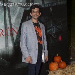 Javier Bódalo en la presentación de la 'Halloween week 2019' del Parque de Atracciones de Madrid
