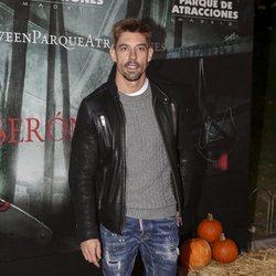 Adrián Lastra en la presentación de la 'Halloween week 2019' del Parque de Atracciones de Madrid