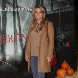 Carla Goyanes en la presentación de la 'Halloween week 2019' del Parque de Atracciones de Madrid