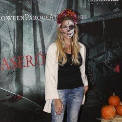 Patricia Montero en la presentación de la 'Halloween week 2019' del Parque de Atracciones de Madrid
