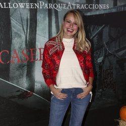 Esmeralda Moya en la presentación de la 'Halloween week 2019' del Parque de Atracciones de Madrid