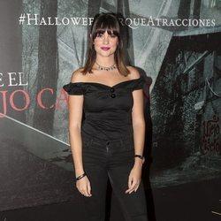 Cristina Abad en la presentación de la 'Halloween week 2019' del Parque de Atracciones de Madrid