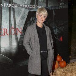 Alba Reche en la presentación de la 'Halloween week 2019' del Parque de Atracciones de Madrid