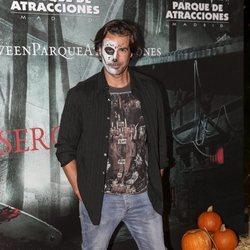 Álex Adrover en la presentación de la 'Halloween week 2019' del Parque de Atracciones de Madrid