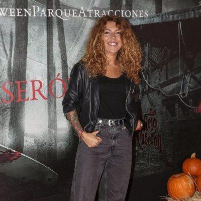 Sofía Cristo en la presentación de la 'Halloween week 2019' del Parque de Atracciones de Madrid