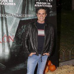 Luis Larrodera en la presentación de la 'Halloween week 2019' del Parque de Atracciones de Madrid