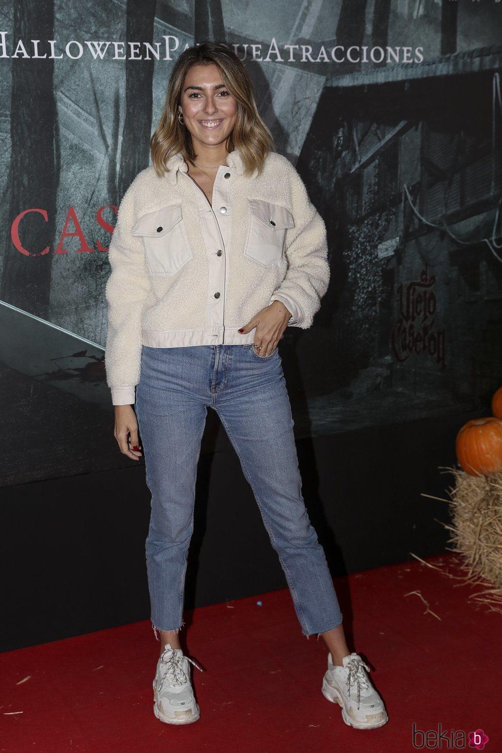 Anna Ferrer en la presentación de la 'Halloween week 2019' del Parque de Atracciones de Madrid