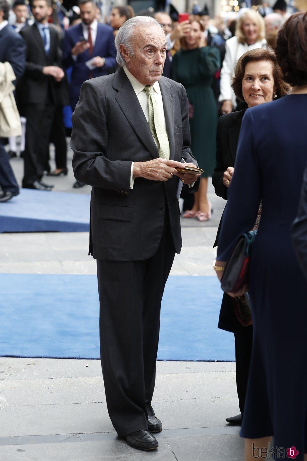 Carlos Zurita en los Premios Princesa de Asturias 2019