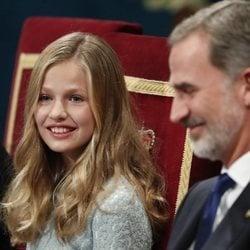 El Rey Felipe y la Princesa Leonor en los Premios Princesa de Asturias 2019