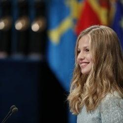 La Princesa Leonor en los Premios Princesa de Asturias 2019