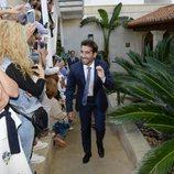 Marc López en la boda entre Rafa Nadal y Xisca Perelló