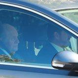 El Rey Juan Carlos I llegando a la boda de Rafa Nadal y Xisca Perelló