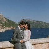 Rafa Nadal y Xisca Perelló recién casados en la fortaleza de Albercuitx, en Mallorca