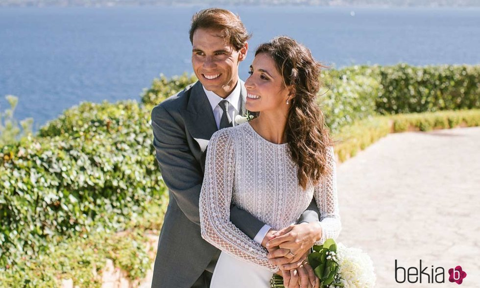 Rafa Nadal y Xisca Perelló, muy románticos convertidos en marido y mujer