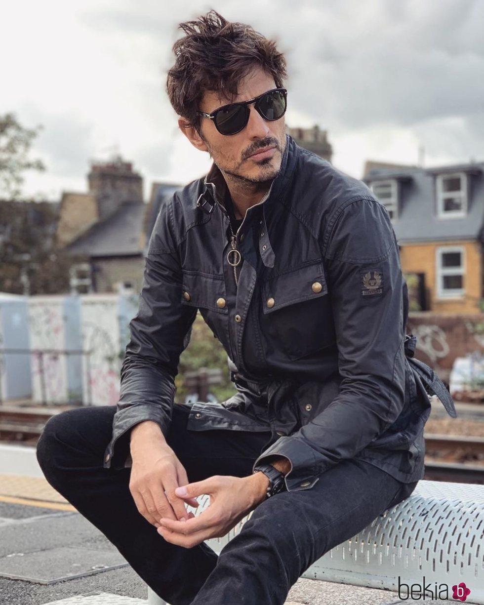 Andrés Velencoso, de vacaciones en Londres