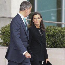 Los Reyes Felipe y Letizia al comienzo de su viaje a Japón para la entronización de Naruhito de Japón