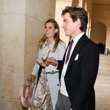 Beatriz de York y Edoardo Mapelli en la boda de Jean-Christophe Napoleón