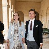 Beatriz de York y Edoardo Mapelli en la boda de Christophe Napoleón y la Condesa Olympia de Austria
