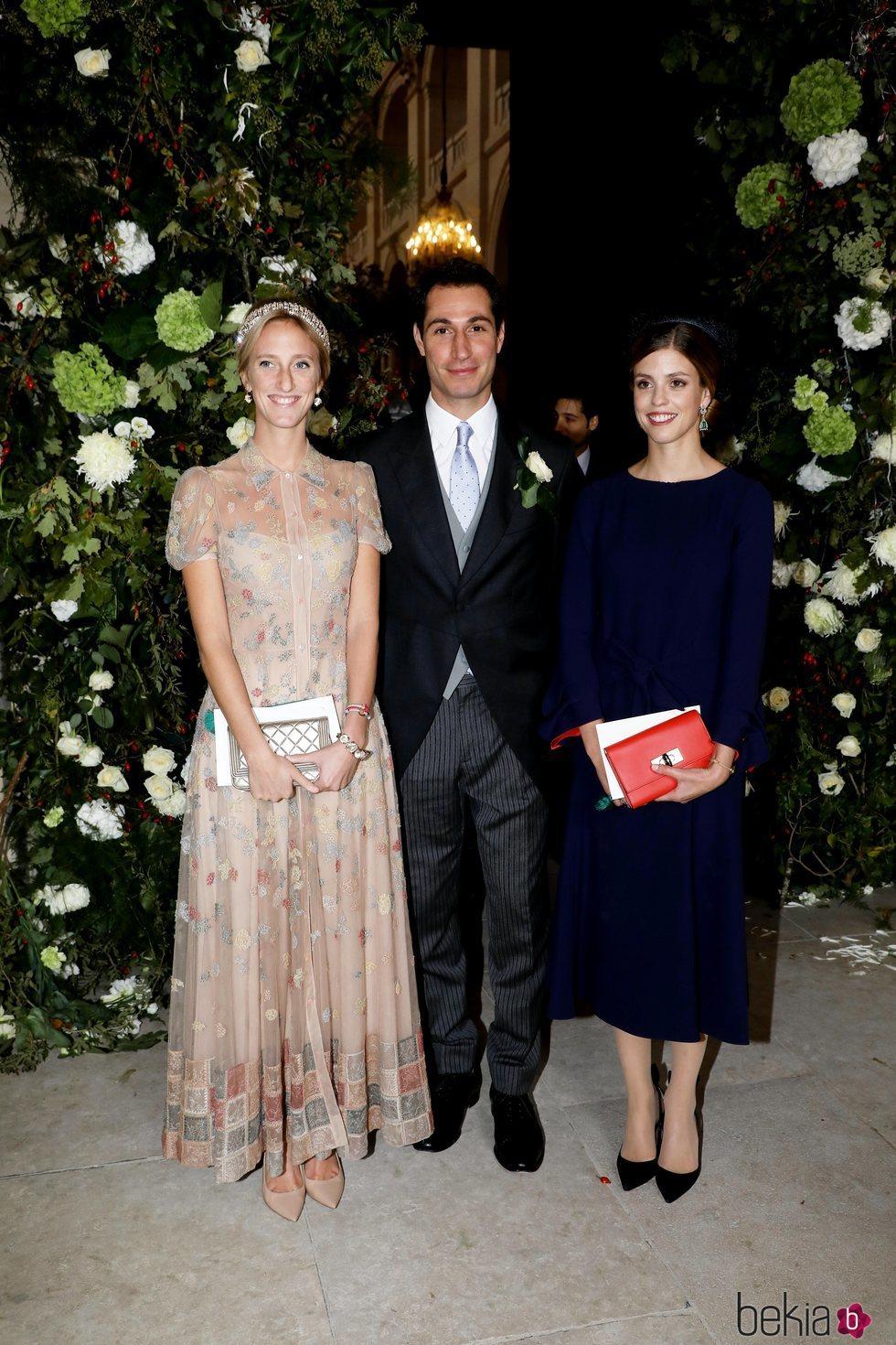 María Laura de Bélgica en la boda de Jean Christophe Napoleón y la Condesa Olympia de Austria