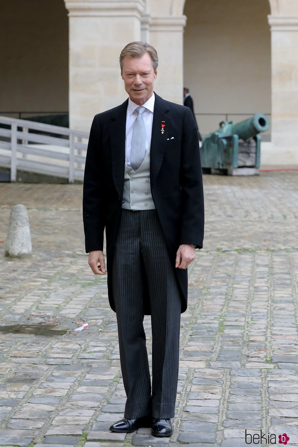 El Gran Duque Enrique de Luxeemburgo en la boda de Christophe Napoleón y la Condesa Olympia de Austria
