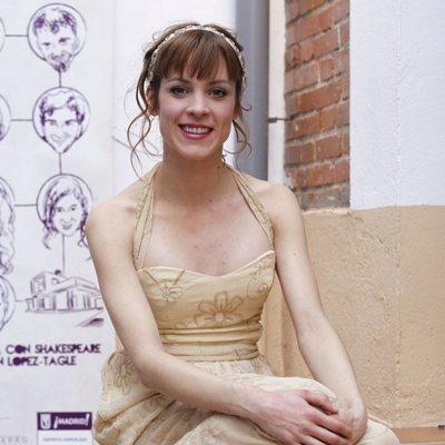 Maggie Civantos en la presentación de una obra en 2013