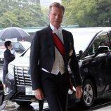 Enrique de Luxemburgo en la entronización de Naruhito de Japón