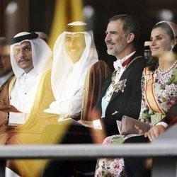Los Reyes Felipe y Letizia en los actos por la entronización de Naruhito de Japón