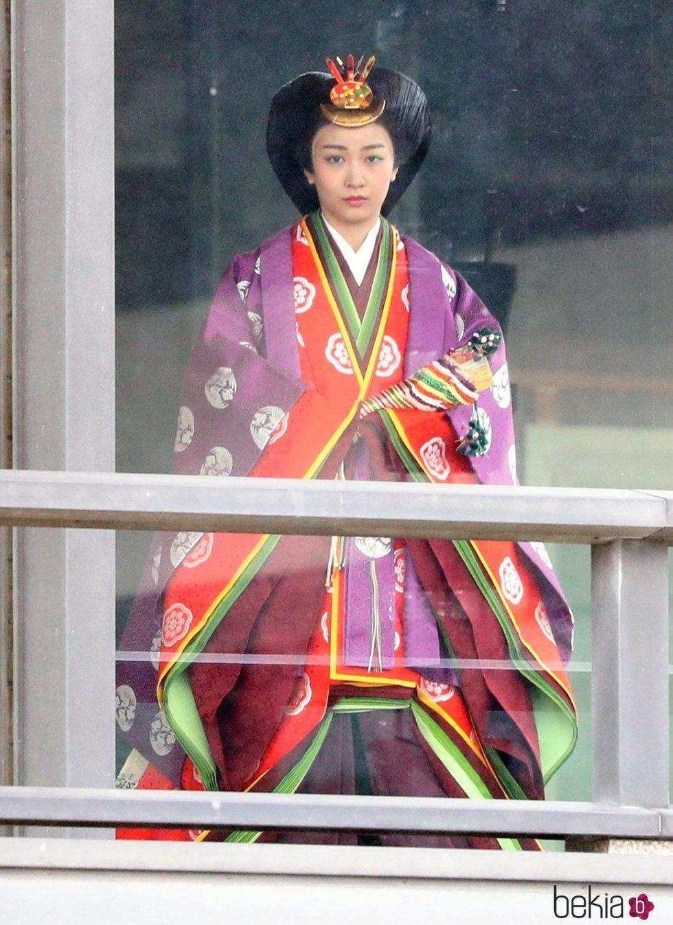 Kako de Japón en la entronización de Naruhito de Japón