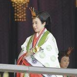 Masako de Japón en la ceremonia de entronización de Naruhito de Japón