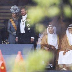 Los Reyes de Holanda en los actos por la entronización de Naruhito de Japón