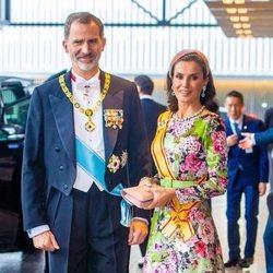 Los Reyes Felipe y Letizia en la entronización de Naruhito de Japón como Emperador
