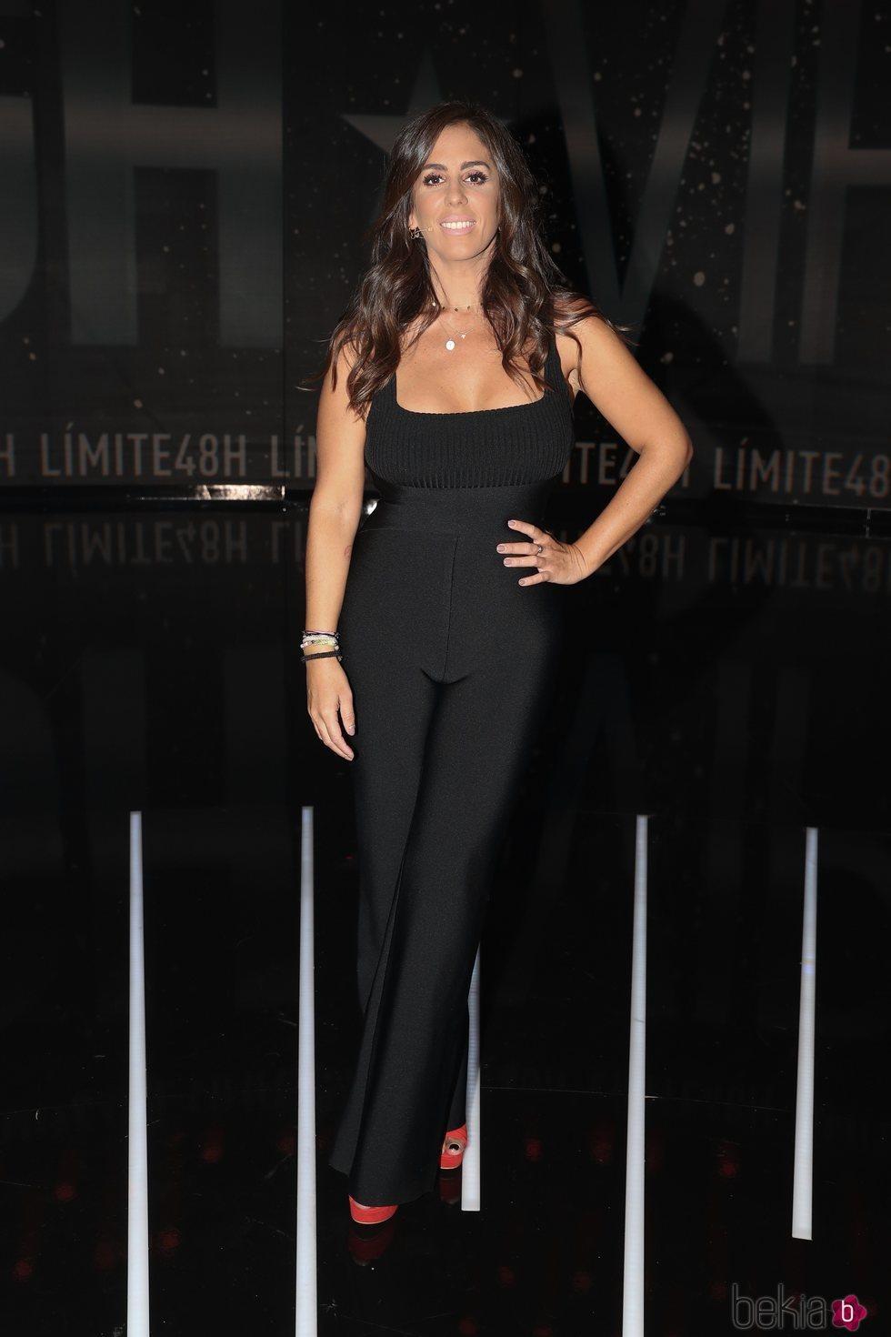 Anabel Pantoja en la sexta gala de 'Límite 48 horas'