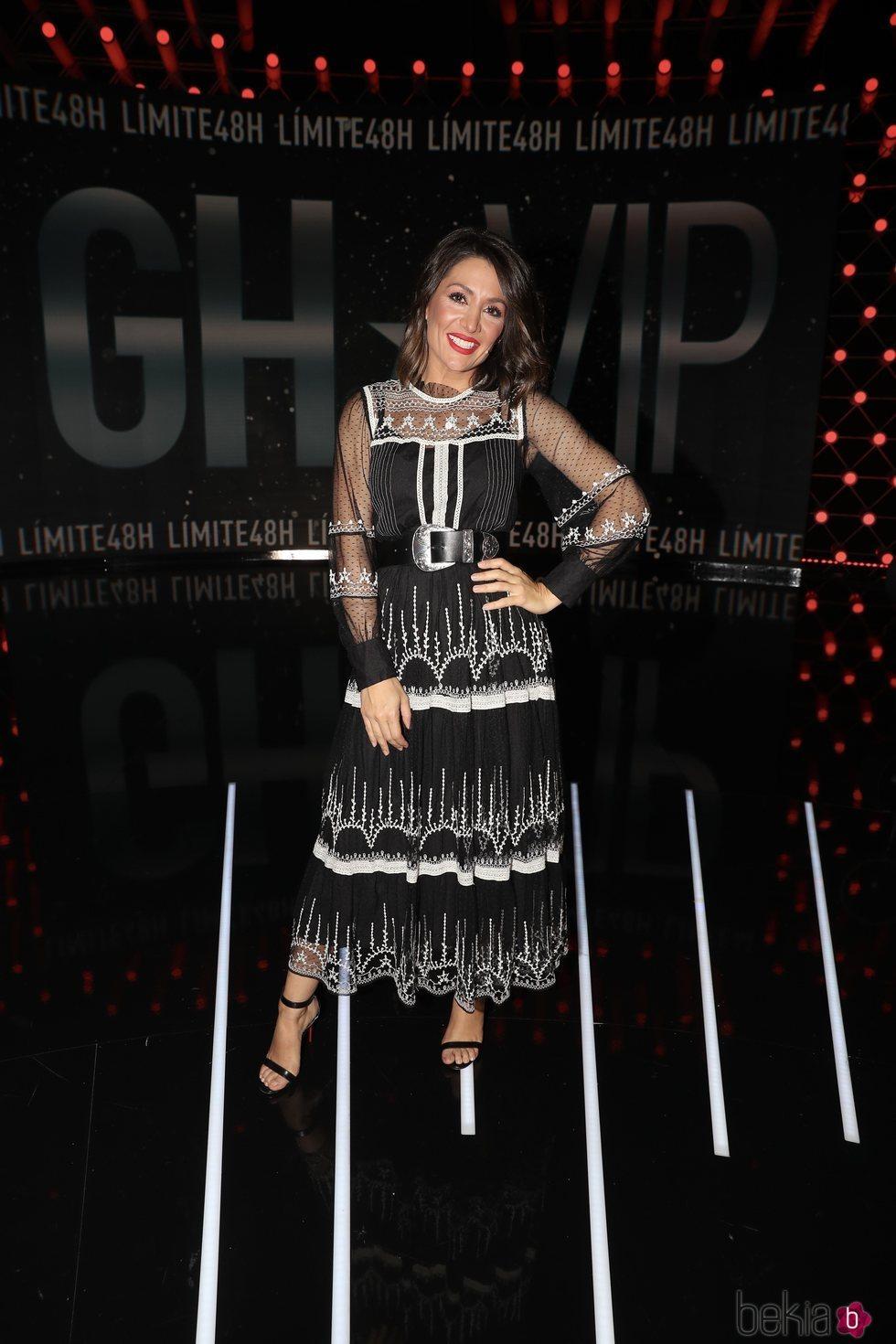Nagore Robles en la sexta gala de 'Límite 48 horas'