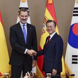 El Rey Felipe, reunido con el Presidente de Corea del Sur en su Visita de Estado
