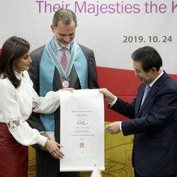 Los Reyes Felipe y Felipe, nombrados ciudadanos de honor de Seúl en su Visita de Estado a Corea del Sur
