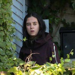 Victoria Federica, saliendo de su casa en Madrid