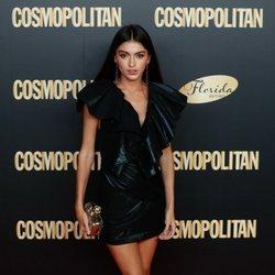Lucía Rivera en el photocall de los Premios Cosmopolitan 2019