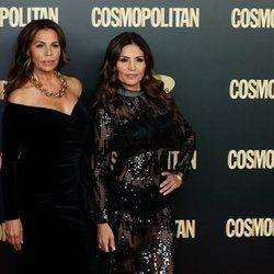 Azúcar Moreno en el photocall de los Premios Cosmopolitan 2019