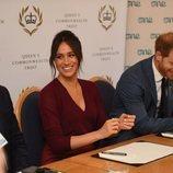 Los Duques de Sussex participando en una mesa redonda sobre igualdad de género en el Castillo de Windsor
