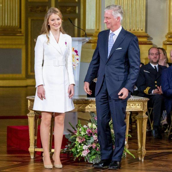 Celebración del 18 cumpleaños de Isabel de Bélgica