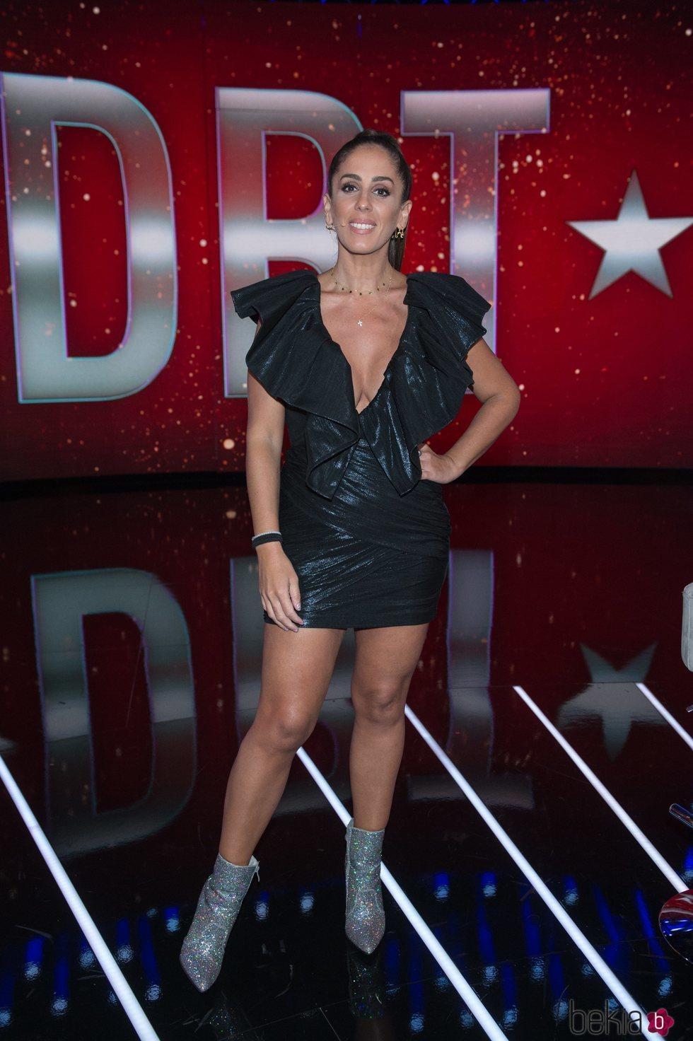Anabel Pantoja durante el séptimo debate de 'GH VIP 7'
