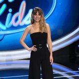 Edurne posando en el plató de 'Idol Kids'