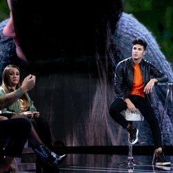 Kiko Jiménez discutiendo con Diego Matamoros en la séptima gala de 'Límite 48 horas'