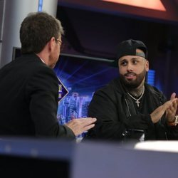 Nicky Jam con Pablo Motos en 'El Hormiguero'