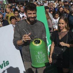 Gerard Piqué impulsa al reciclaje del plástico y el vidrio en Madrid