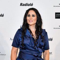 Rosa López en la entrega de premios de Radiolé