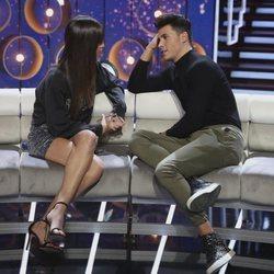 Kiko Jiménez y Sofía Suescun en el octavo debate de 'GH VIP 7'
