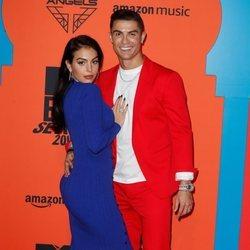 Cristiano Ronaldo y Georgina Rodríguez en los Premios MTV EMA 2019 en Sevilla